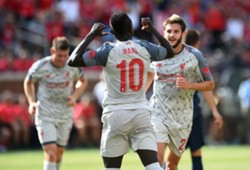 280718 Sadio Mané Mohamed Salah Liverpool Manchester United