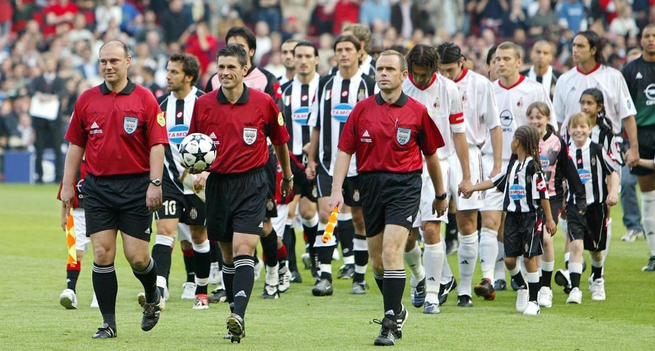 Milan Juventus Champions League 2003