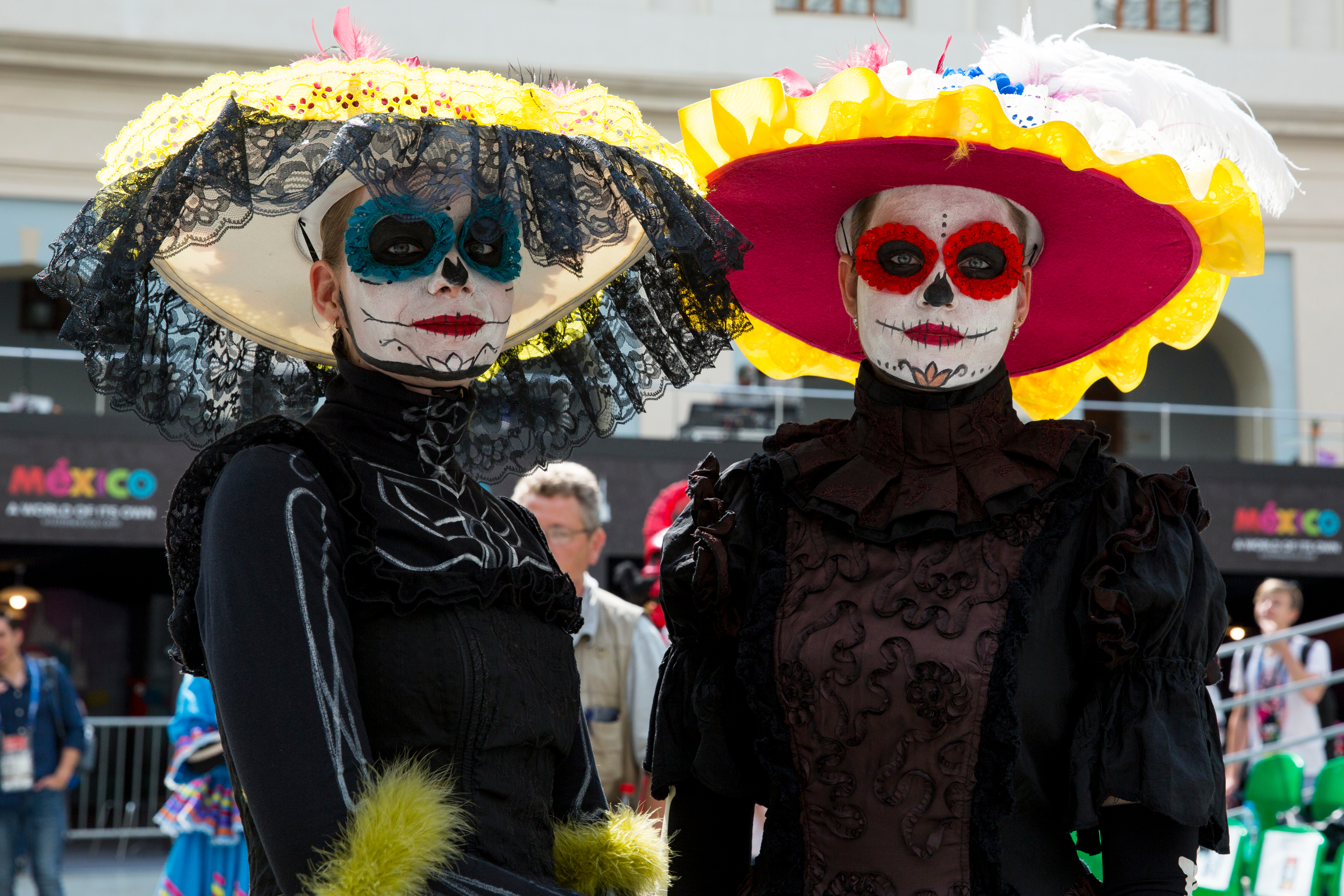 WC2018. Mexico day of the dead