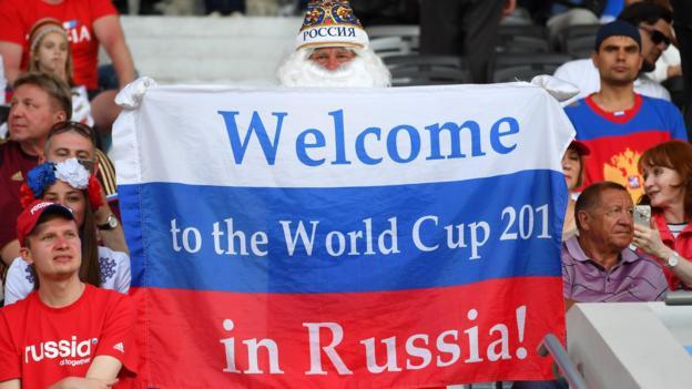العنصرية في روسيا وكأس العالم