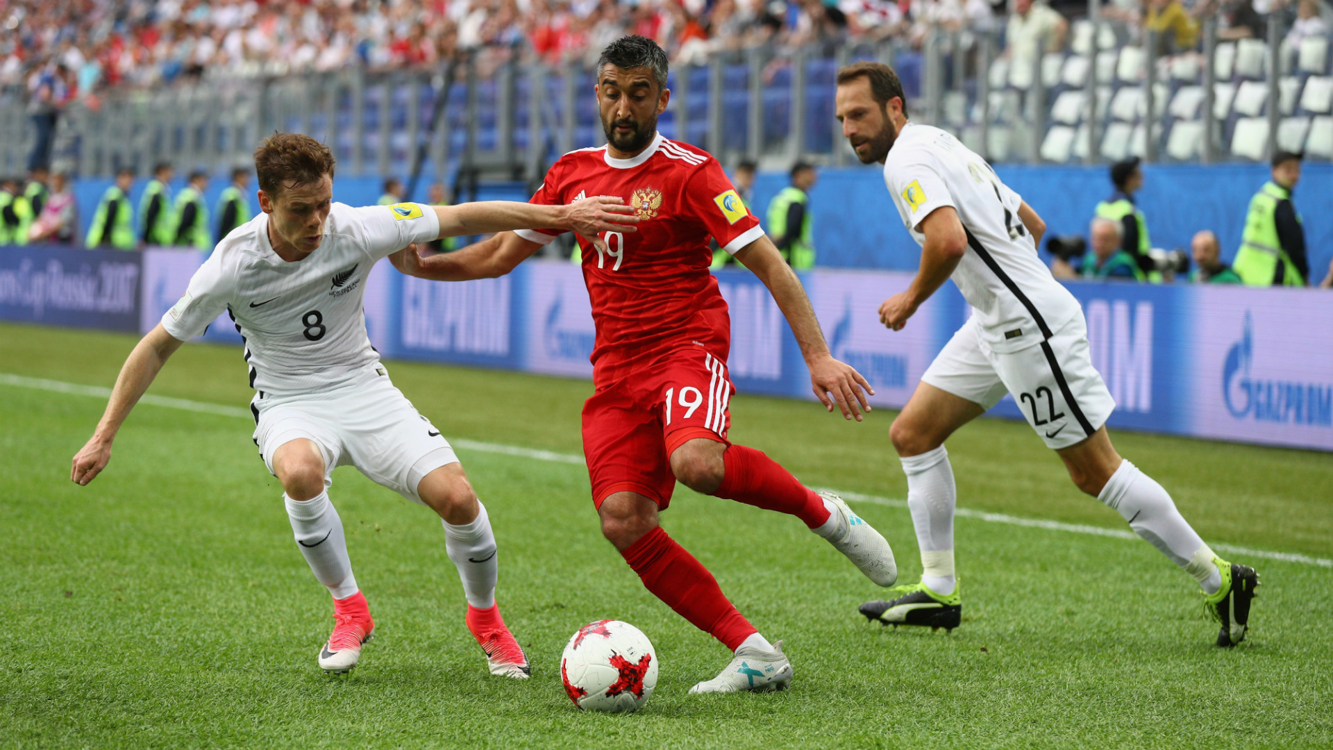 Alexander Samedov Russia New Zealand Confederations Cup