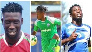 Farouk Shikalo, Allan Wanga and Francis Kahata