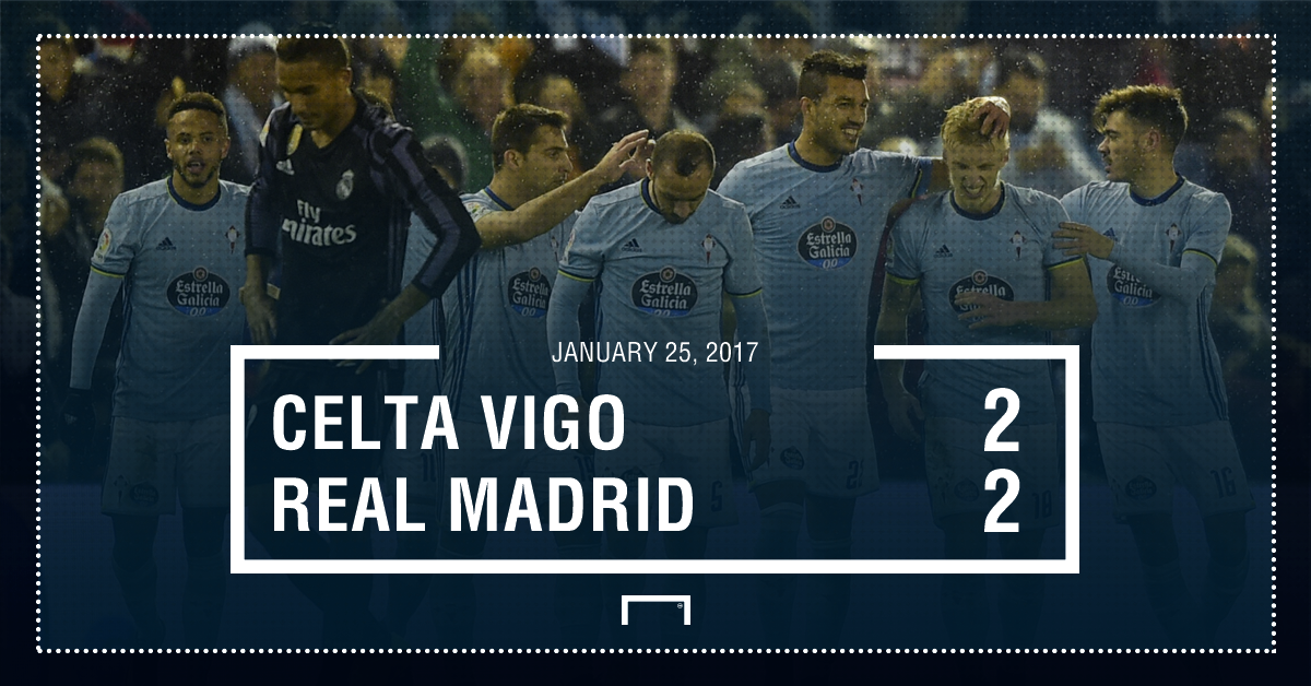 Celta Madrid result