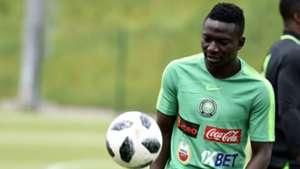 Nigeria training - Oghenekaro Etebo
