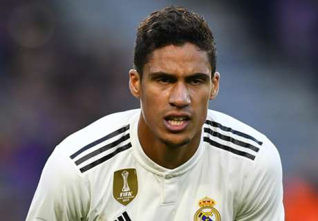 Varane refuses to discuss Real Madrid future