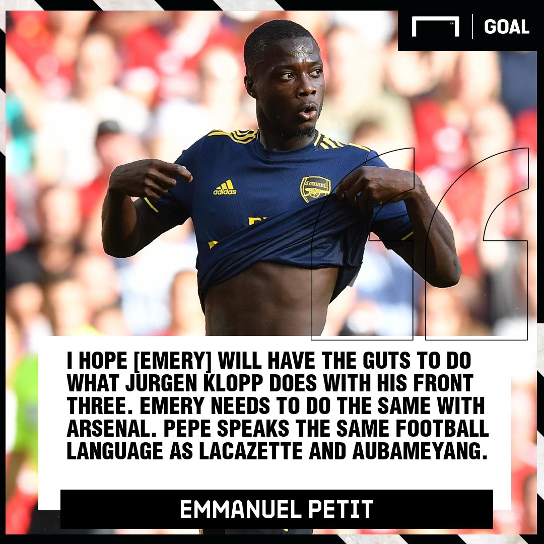 Emmanuel Petit Arsenal PS