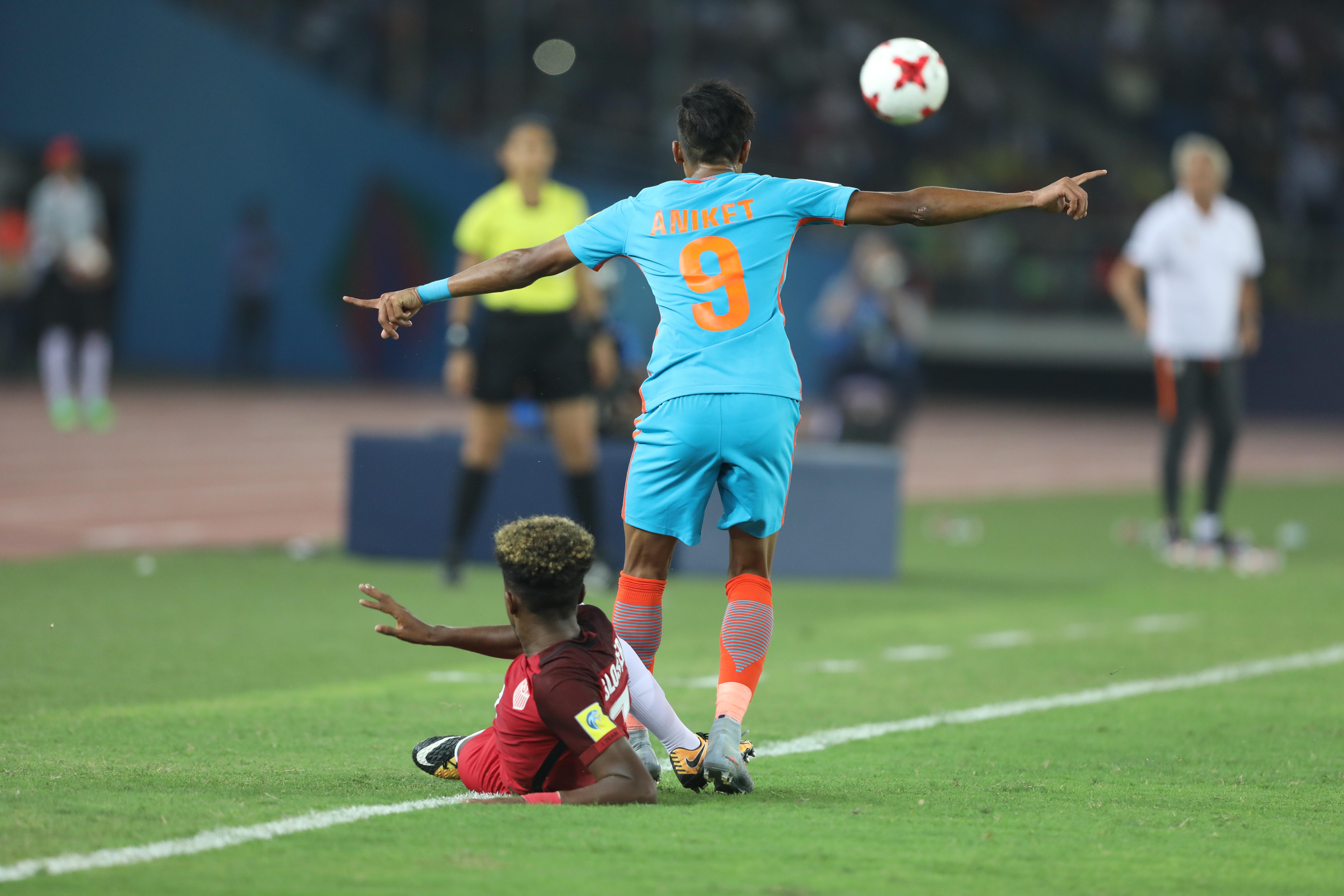 Aniket Jadhav India U17 USA U17 2017 U17 World Cup