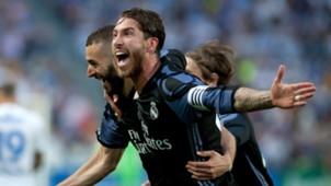 Sergio Ramos Malaga Real Madrid LaLiga 21052017