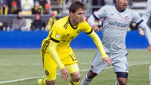 Ethan Finlay Columbus Crew Chicago Fire