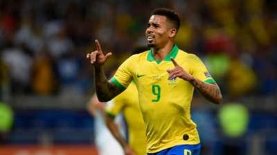 Gabriel Jesus Brazil 2019