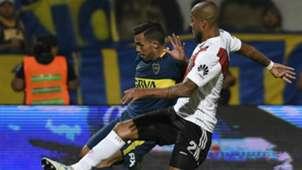 Tevez Maidana Boca Juniors River Plate Supercopa Argentina 14032018