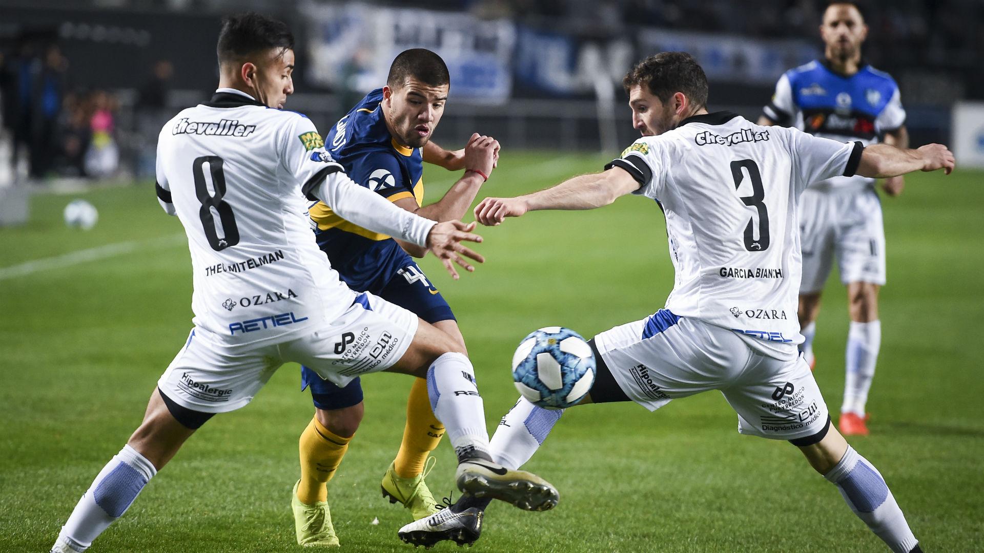 Marcelo Weigandt Boca Almagro Copa Argentina 13082019