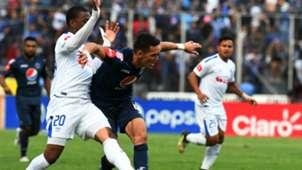 Motagua v Olimpia Honduran Apertura Tournament football final at the Nacional stadium in Tegucigalpa 16122018