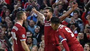 Jordan Henderson, Emre Can, Roberto Firmino, Liverpool