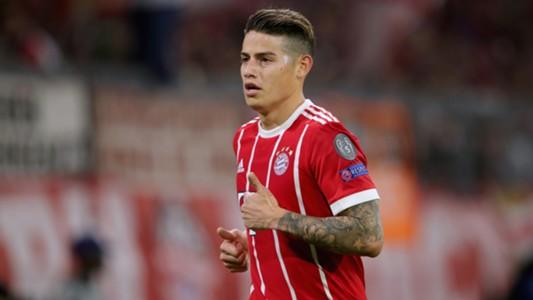 James Rodriguez Bayern München 22042018