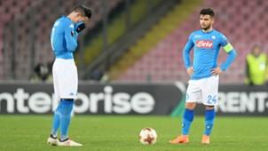 Callejon Insigne Napoli Europa League