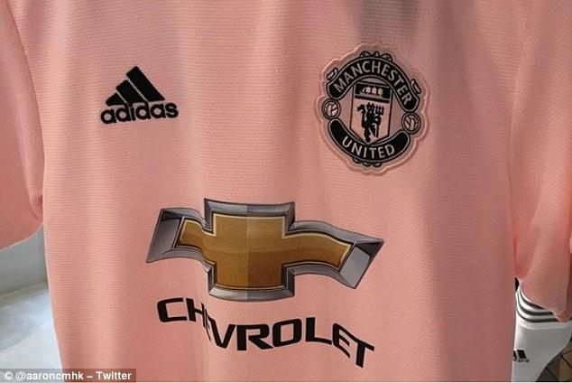Manchester United leaked away kit 2018-19