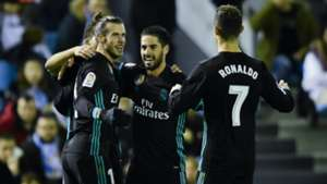 Gareth Bale Isco Cristiano Ronaldo Real Madrid