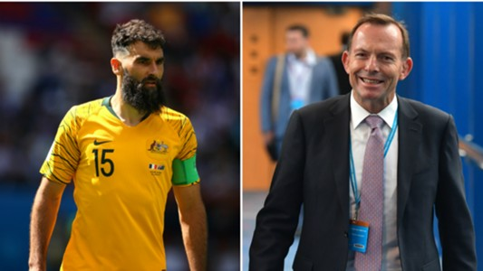 Mile Jedinak/ Tony Abbott