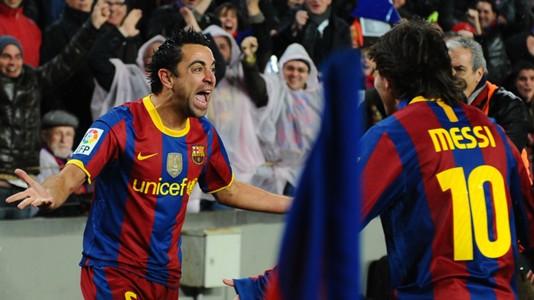 Xavier Hernandez Lionel Messi Real Madrid 0-5 Barcelona