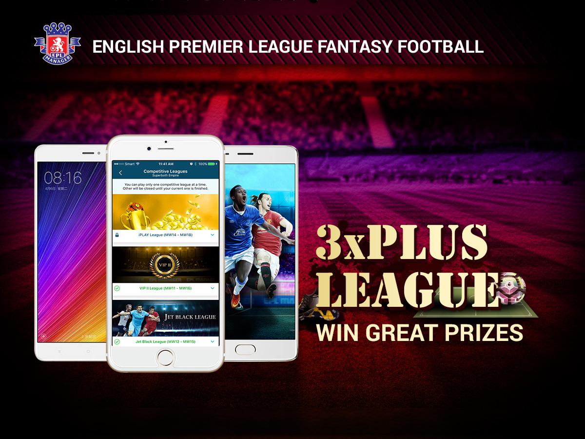 EPL Manager - 3x Plus League gfx