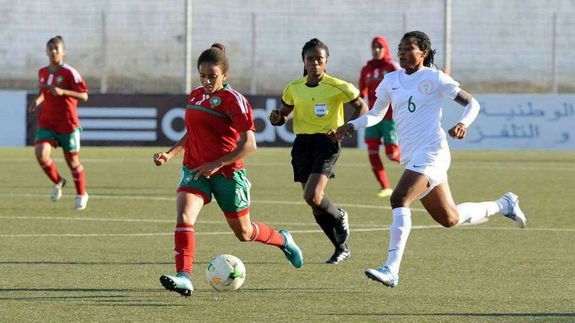 Nigeria vs Morocco U20 women
