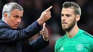 Jose Mourinho David De Gea Man Utd 2018-19