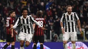 Cuadrado Higuain Juventus Milan