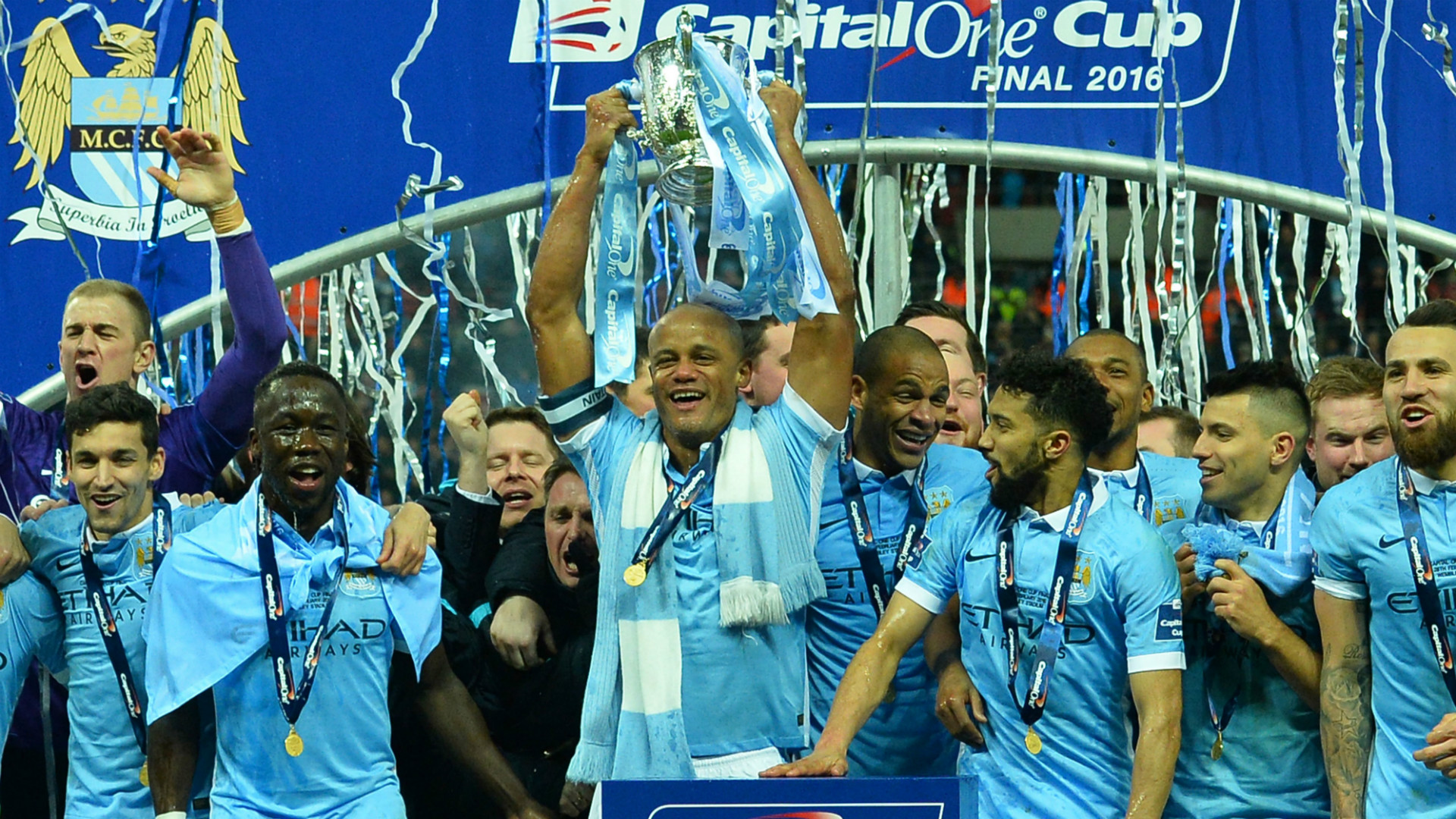 Manchester City League Cup 2016