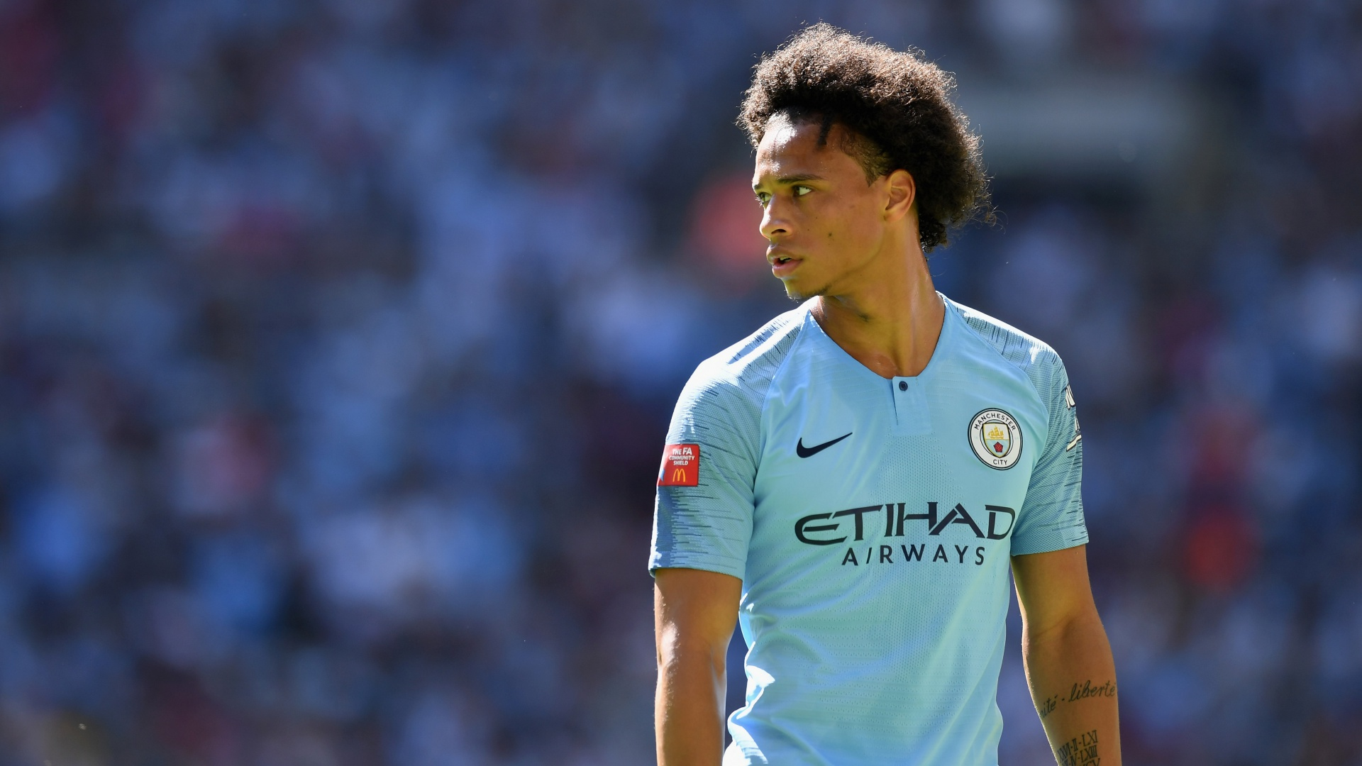 Leroy Sane Manchester City 2018-08-05