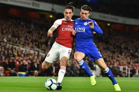 Héctor Bellerín & Ben Chilwell - Arsenal v Leicester City