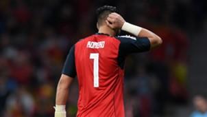 Sergio Romero Argentina España Amistoso 2018