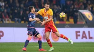 Berat Djimsiti Andrea Nalini Benevento Crotone Serie A