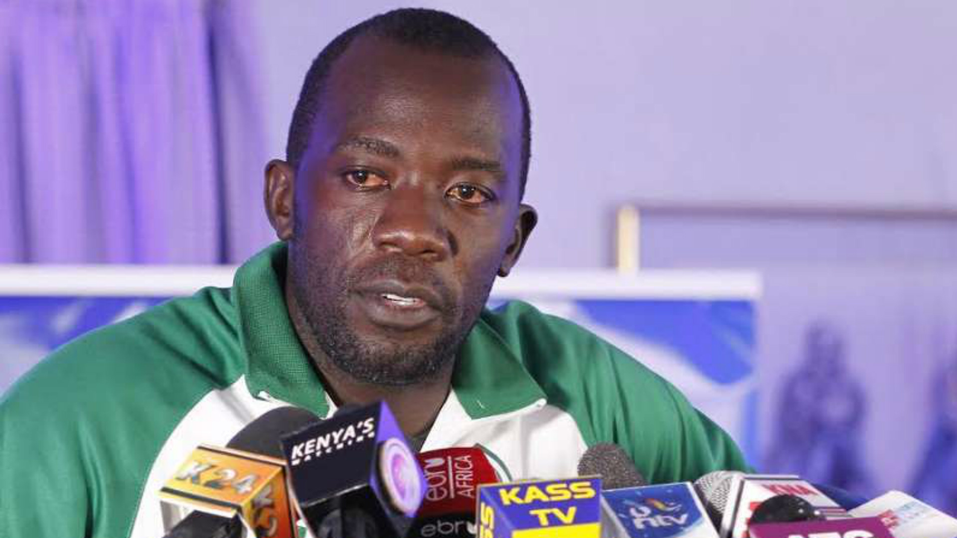 Jerim Onyango speaks on behalf of Gor Mahia in 2015 season.