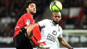 Clement Grenier Baissama Sankoh Guingamp Caen Ligue 1 10022018