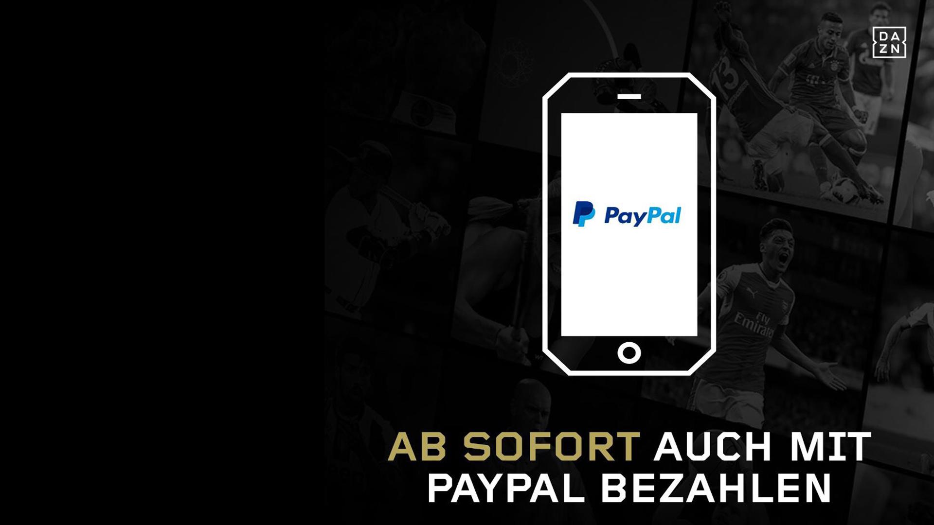 GFX DAZN Paypal