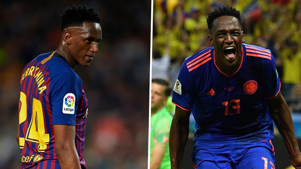 Yerry mina transfer news why colombias world cup 2018 star has yerry mina transfer news why colombias world cup 2018 star has been a flop at barcelona goal stopboris Choice Image