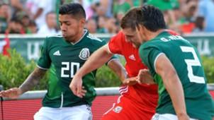 Javier Aquino Sam Vokes Mexico Wales