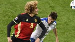 Fellaini Darmian Belgium Italy Euro 2016
