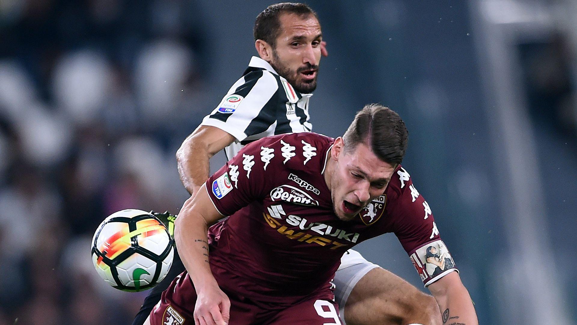 Torino-Juventus, possibile prova tv per Chiellini