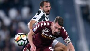 Chiellini Belotti Torino Juventus