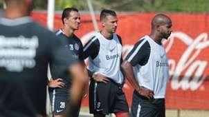 Internacional treino 06022018 Leandro Damiao Victor Cuesta Patrick