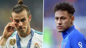 Gareth Bale Neymar Real Madrid PSG 2017-18