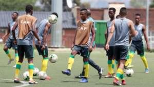 South Africa U20 training session