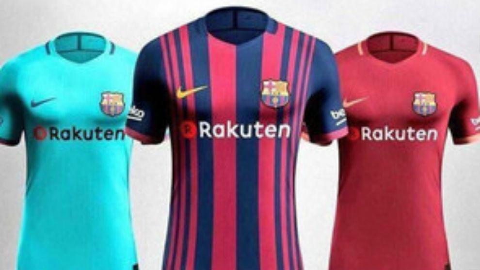 Maillot Extérieur FC Barcelona Tenue de match