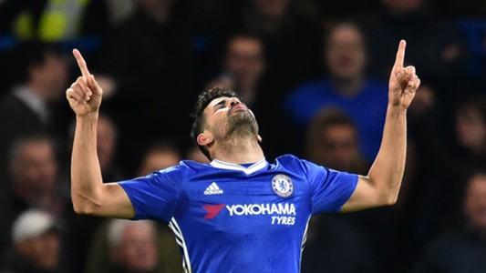 Diego Costa Chelsea 2017