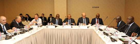 Caf Exco Meeting
