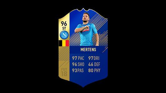 FIFA 18 Calcio A Team of the Season Mertens