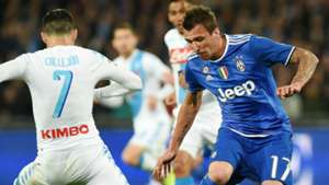 Mandzukic Napoli Juventus Serie A