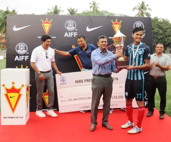 EMBED ONLY Jeakson Singh Minerva Punjab Nike Premier Cup 2016